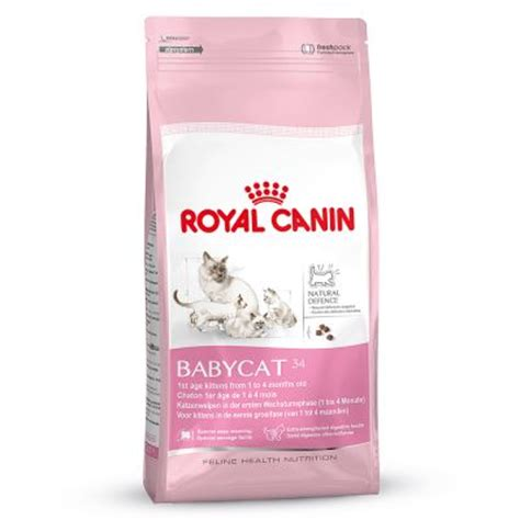 Promo Royal Canin 400 Gr Cat 30 royal canin babycat croquettes pour chatte et chaton zooplus