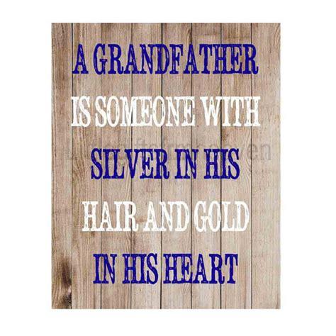 items similar  grandfather quote rustic print grandparents day fathers day print grandpa