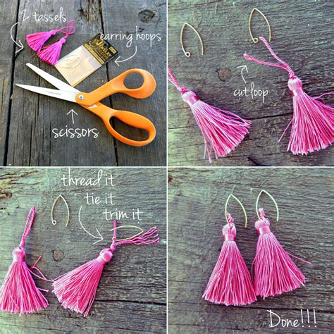 diy 16 ways to make fabulous diy earrings pretty designs