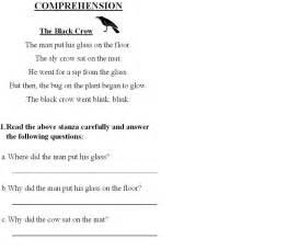 comprehension 1