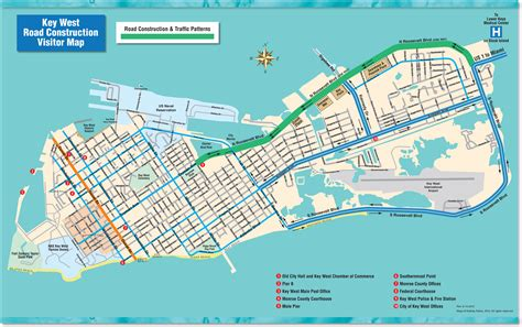 map of key west florida key west hotels map images frompo