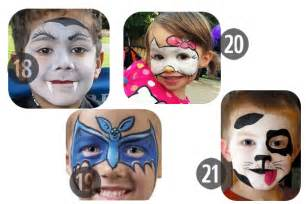 Face painting ideas 25 easy and not so easy diy halloween ideas for