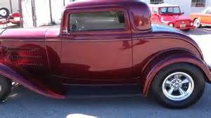 Leather Upholstery Paint Red Deuce Coupe Custom Rod Youtube