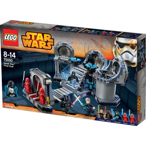 death star lego star wars final duel lego star wars death star final duel 75093 new ebay