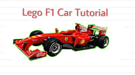 lego vehicle tutorial lego f1 car tutorial youtube