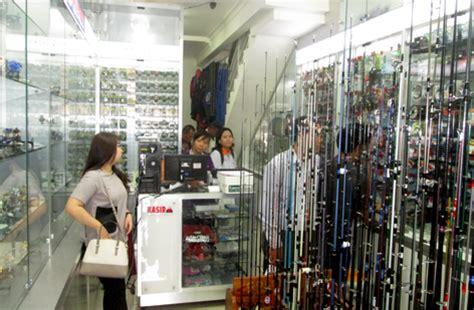 Pancing Termahal imm fishing shop grand opening dihadiri importir