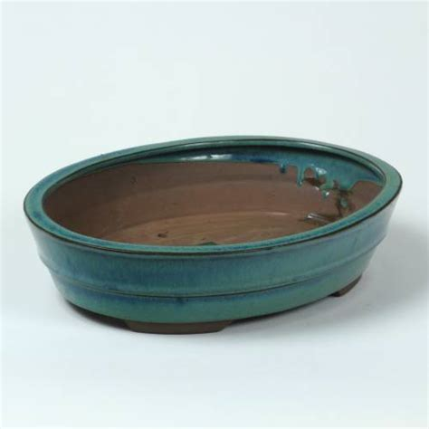 vaso ceramica vaso cer 226 mica bonsai oval 30 5 x 23 5 x a 7cm venda
