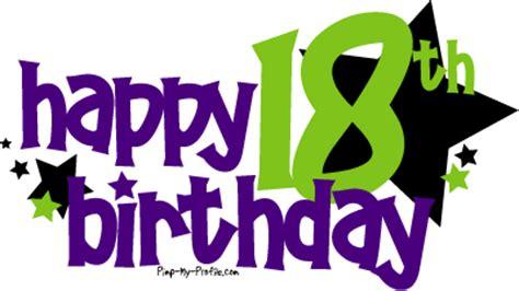 Happy Birthday Pimp Quotes Happy 18th Birthday Comments Graphics Pimp My