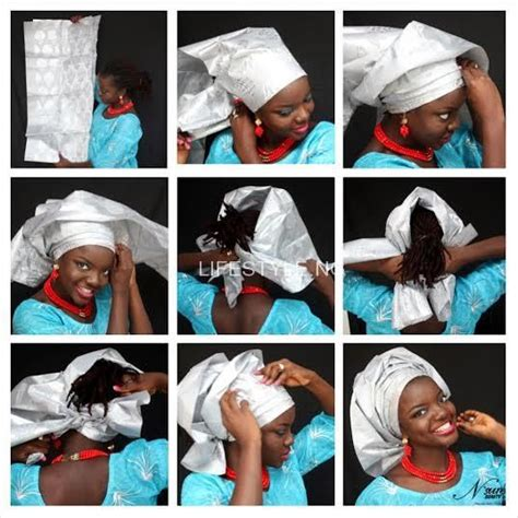 tutorial video on how to tie gele do it yourself gele tying tutorial african print