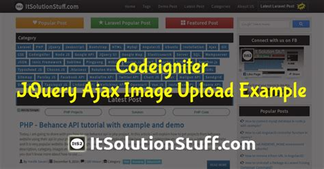 codeigniter tutorial scratch codeigniter jquery ajax image upload exle from scratch