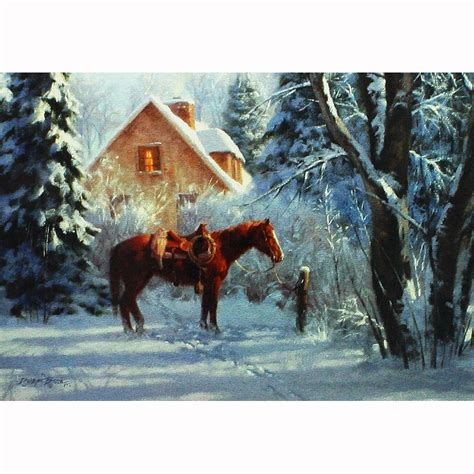 leanin tree christmas card 10 pack boot barn