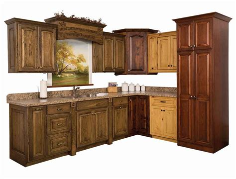 how kitchen cabinets are made amish made cabinets