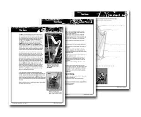 printable music lesson plans instruments of the orchestra the instruments of the orchestra lesson plans