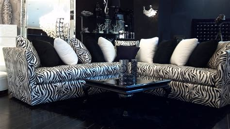 zebra couches 4344 l shaped zebra sofa relaxing never looked so