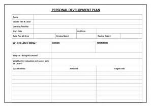idp template individual development plan idp exle book covers