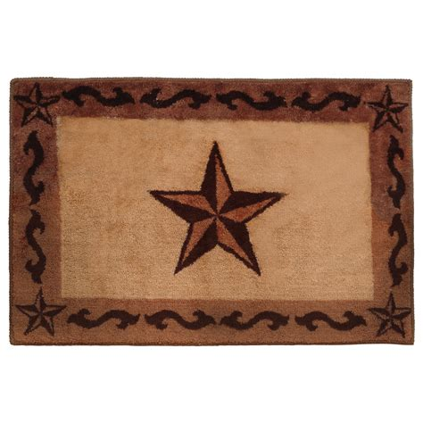Western Bathroom Rugs Southwest Rugs Chocolate Scrolls Bath Rug Lone Western Decor
