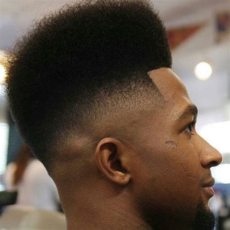 nappy box fade high top fade haircut