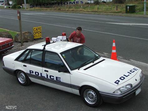 holden commodore vl replica australian police car