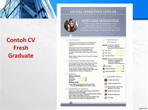 exle cv for fresh graduate 081 555 88 2600 indosat contoh cv fresh graduate baru