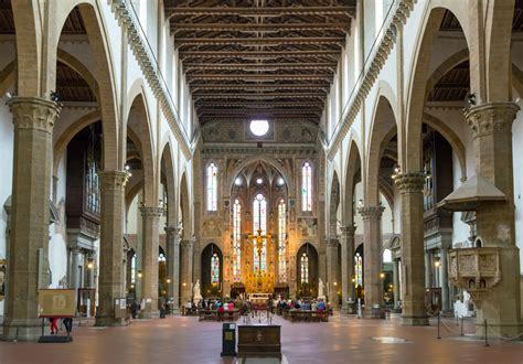santa croce interno la basilica di santa croce bellezza