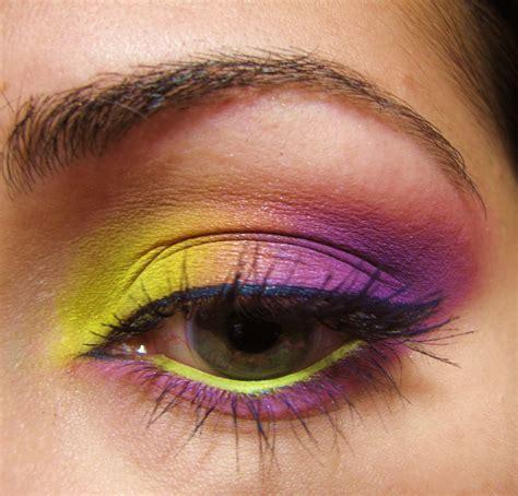 eyeshadow colors the makeup artist yellow purple eyeshadow