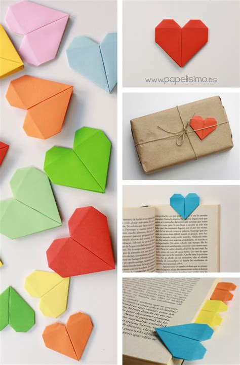 San Origami - coraz 243 n de papel tarjeta de san valent 237 n origami http