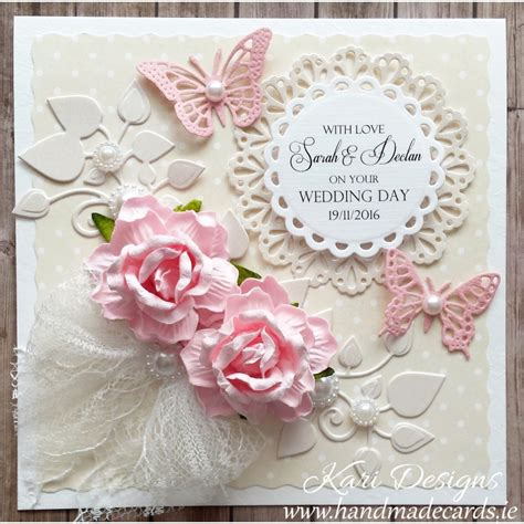 Wedding Wishes Card Design by Handmade Wedding Wishes Card