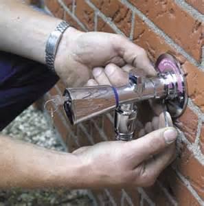 selbstentleerender wasserhahn flie 223 endes wasser auch in der eiszeit