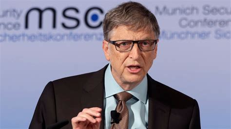 bill gates biography report bill gates warns of bio terrorism catastrophe itv news