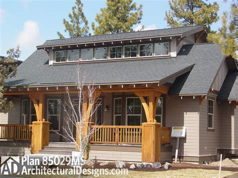 bungalow house plans with front porch bungalow with great front porch 85029ms architectural designs house plans