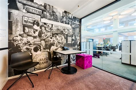Office Design Inspiration the wonderfully designed offices of spotify in new york