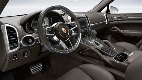 Car Interior Improvements by New Engines For 2015 Model Year Porsche Cayenne