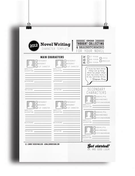 novel notes template pantsy plotter and the templates of story telling study