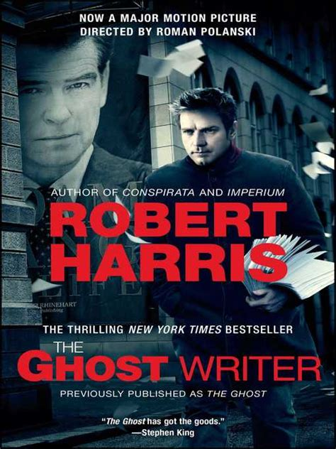 The Ghost By Robert Harris the ghost pima county library overdrive