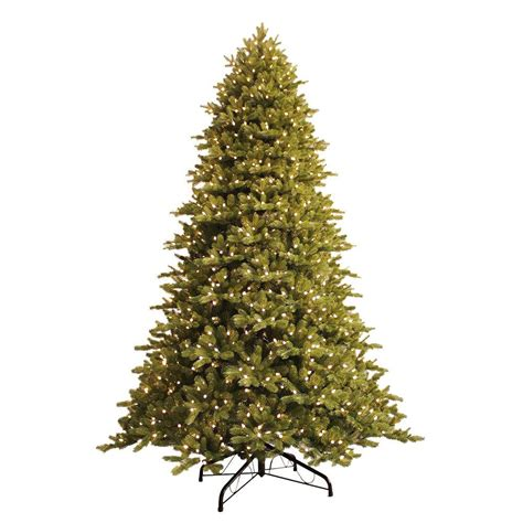9 ft just cut norway spruce ez light artificial christmas