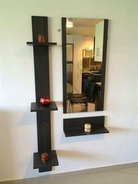 decoracion con espejos y repisas muebles repisas modernas obtenga ideas dise 241 o de muebles