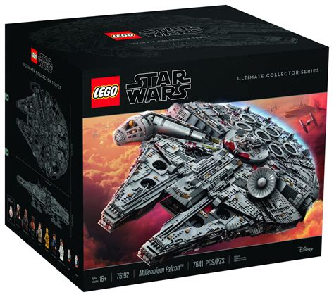 Millenium Set by The Lego Wars Millennium Falcon Is Their Set