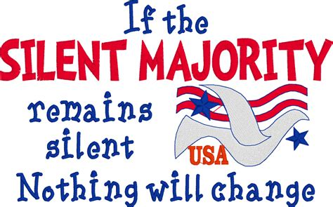 The Silent political embroidered shirt if the silent majority