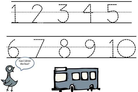 tracing numbers 1 10 free printable tracing numbers 1 10 to print loving printable