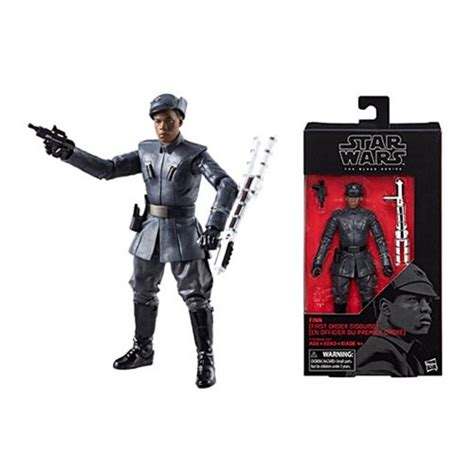 Hasbro Wars The Black Series 6 Inch Finn wars black series finn order figure