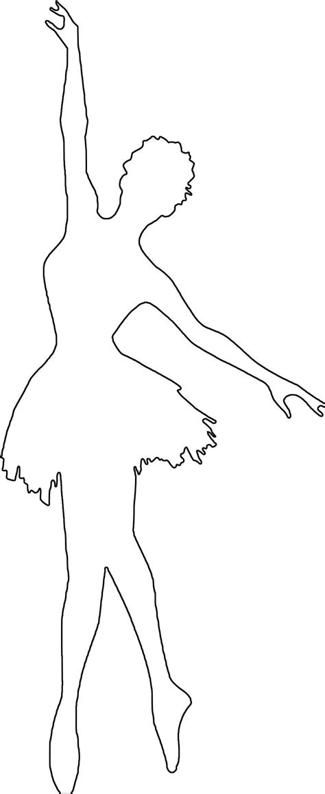 free templates for pages templates ballerinas free coloring pages print