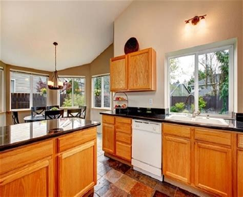 functional kitchen cabinets points to look into while choosing a granite benchtops