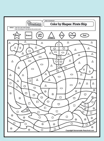 fun  interactive preschool worksheets