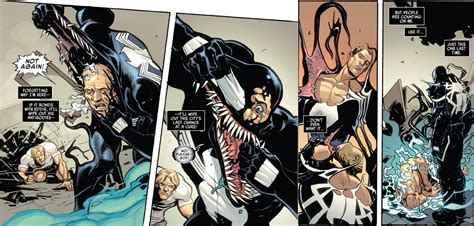 strongest symbiote eddie brock comic vine