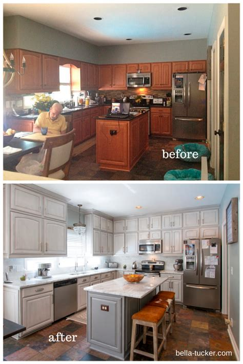 cabinet refinishing nashville tn painted cabinets nashville tn before and after photos