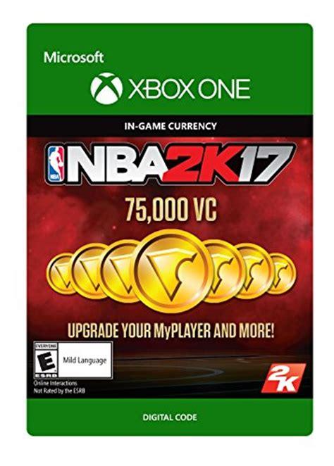 Termurah Ps4 Nba 2k17 Reg 3 nba 2k17 75 000 vc xbox one digital code