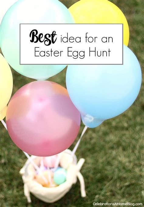 idea hunt the best easter egg hunt idea for toddlers celebrations
