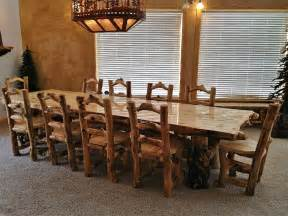 Log Kitchen Table And Chairs Log Furniture Ideas For Your Place Home Caprice
