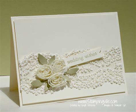 how to make wedding cards floral lace wedding card