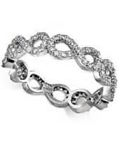 macy s infinity ring rings fashion jewelry macy s